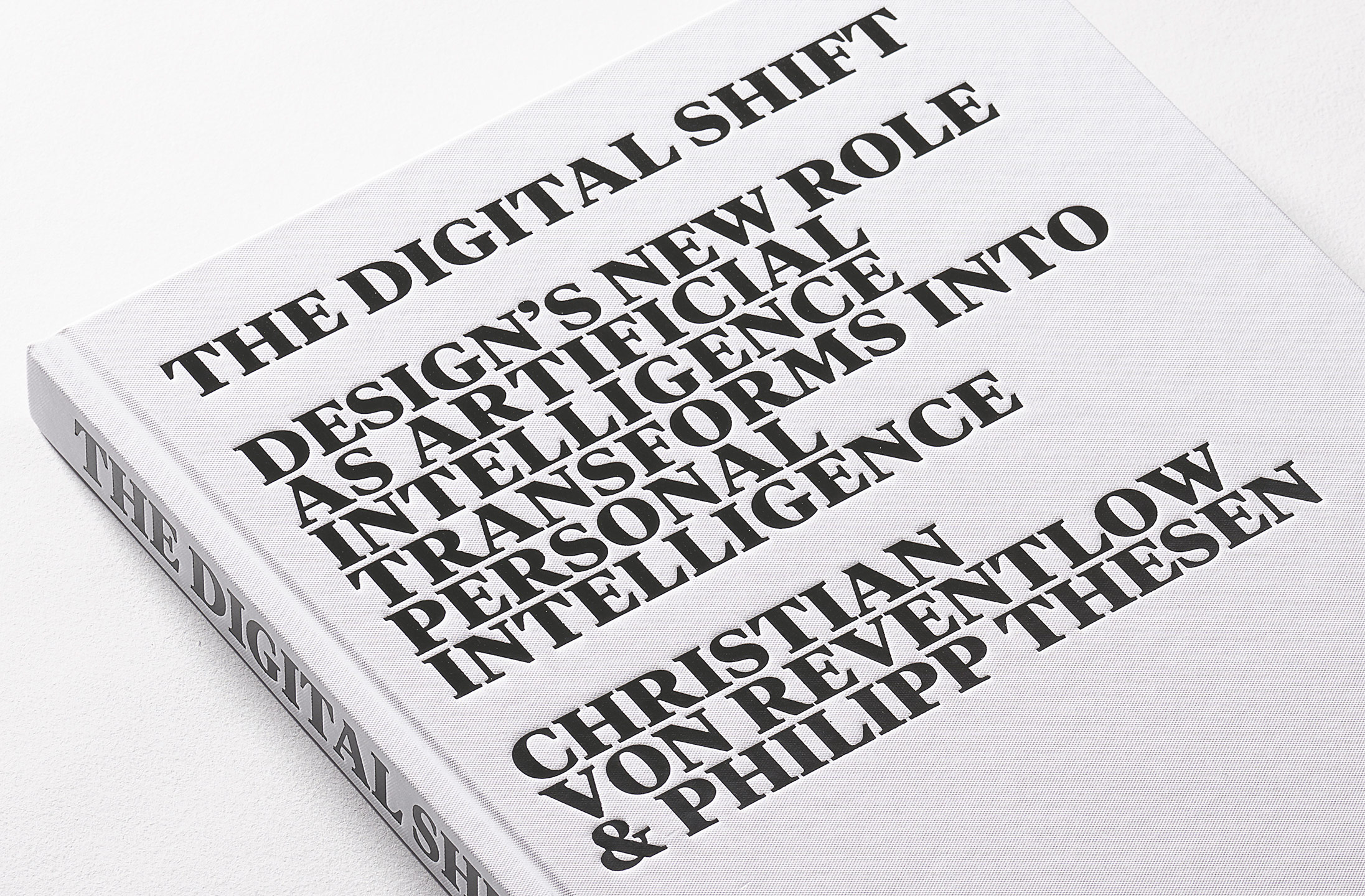 Book design for The Digital Shift — Steidl Books (2019)