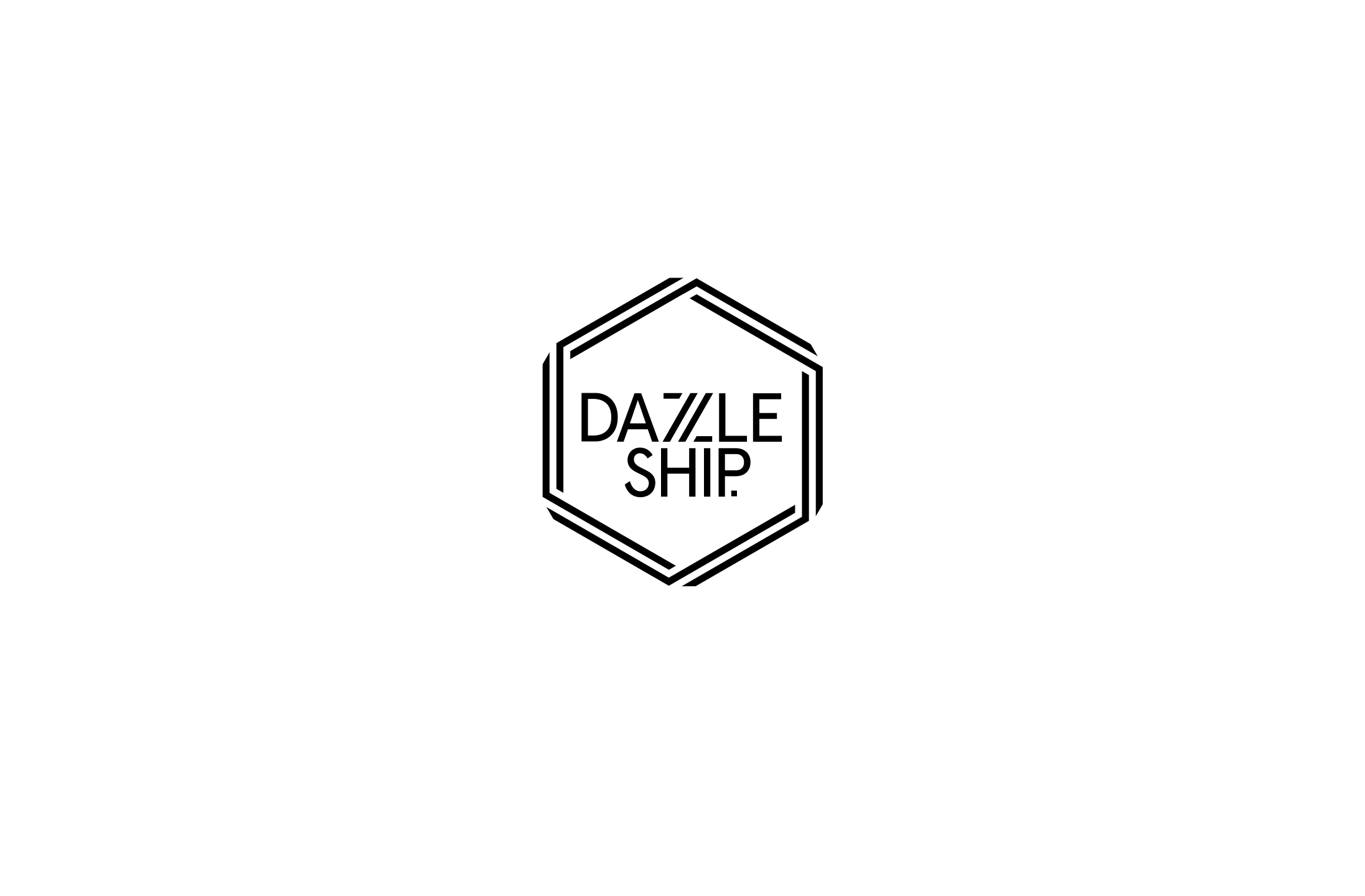 Logo design for motion graphics studio, Dazzle Ship